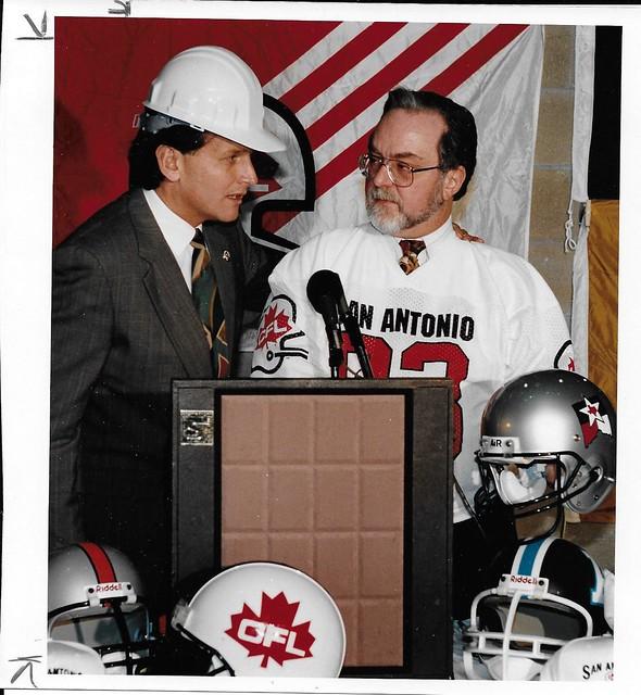 San Antonio Texans CFL 1993