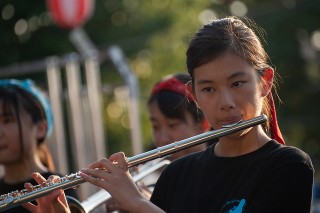 wind orchestra girl #1