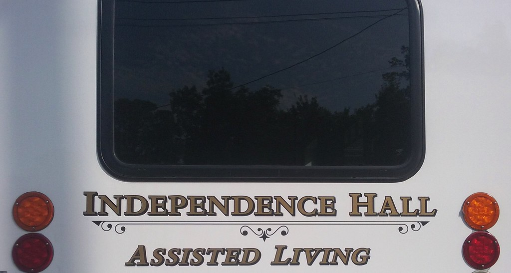 Independence Hall- Assisted Living: Assisted Independence? Retirement home with an Orwellian name.