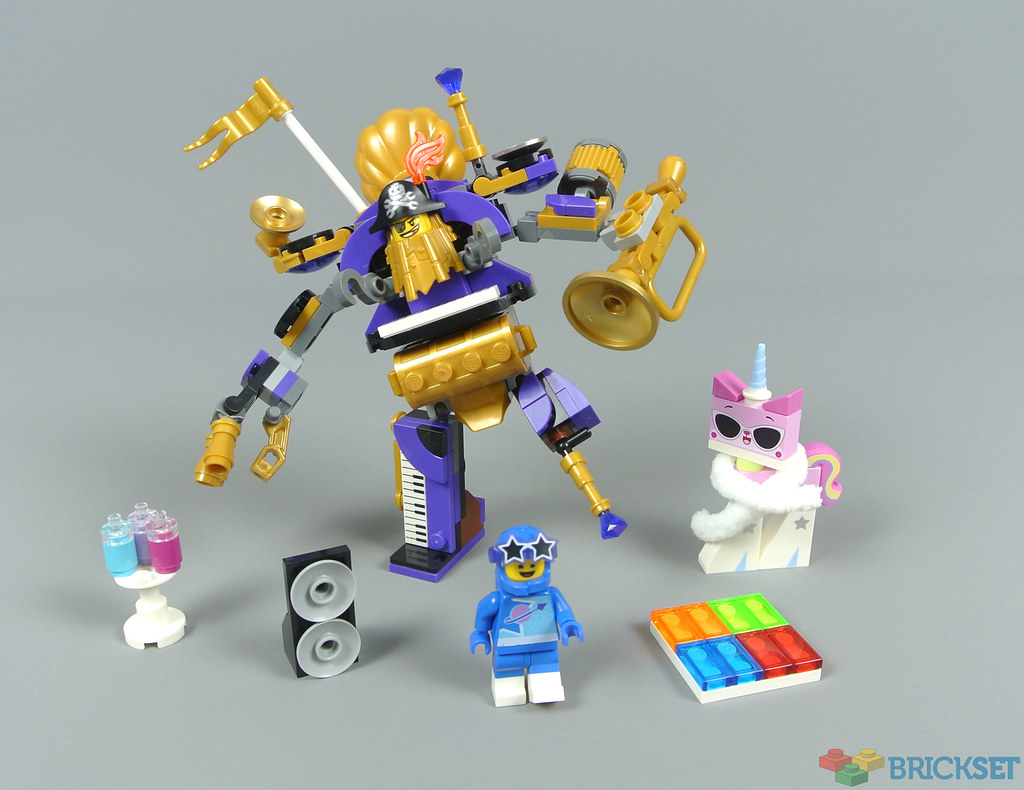 LEGO The Lego Movie 2: The Second Part 70848 Systar Party Crew review