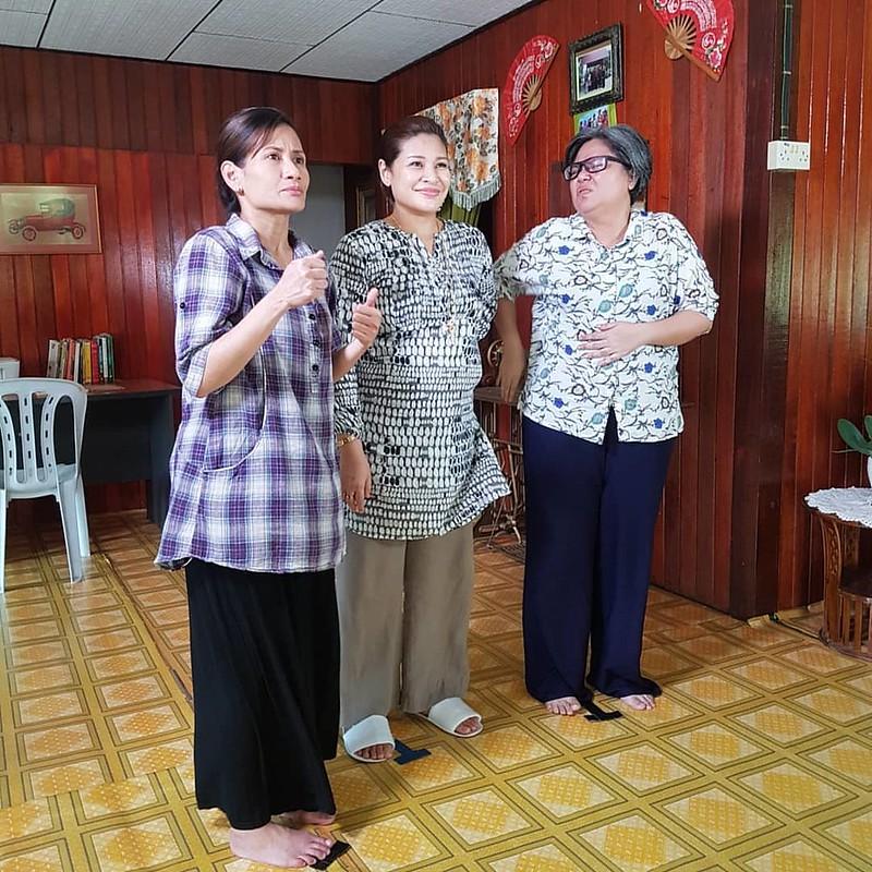 Sherry Merlis, Fazlina Ahmad Daud Dan Zila Bakarin Watak Ibu