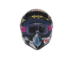1997 Ryan Hughes' Troy Lee Designs Bell Helmet - Naoyuki Shibata pic 5