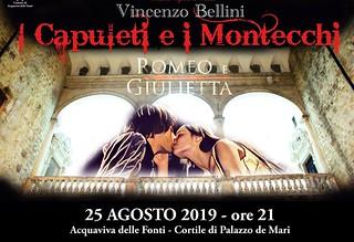 Manifesto I Capuleti e i Montecchi 2019