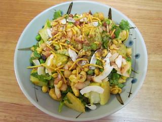 Coconut Samosa Potato Salad