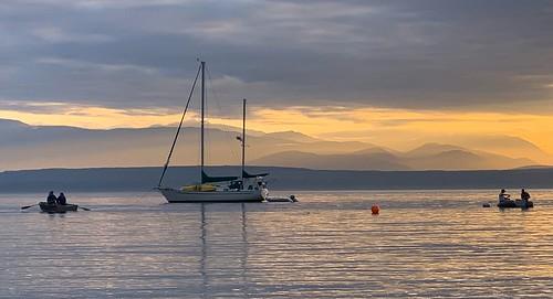 waterscape landscape nature iphone fishing boats scottelliottsmithson scottsmithson dtwpuck olympicmountains sunset pugetsound washingtonstate washington whidbeyisland mutinybay