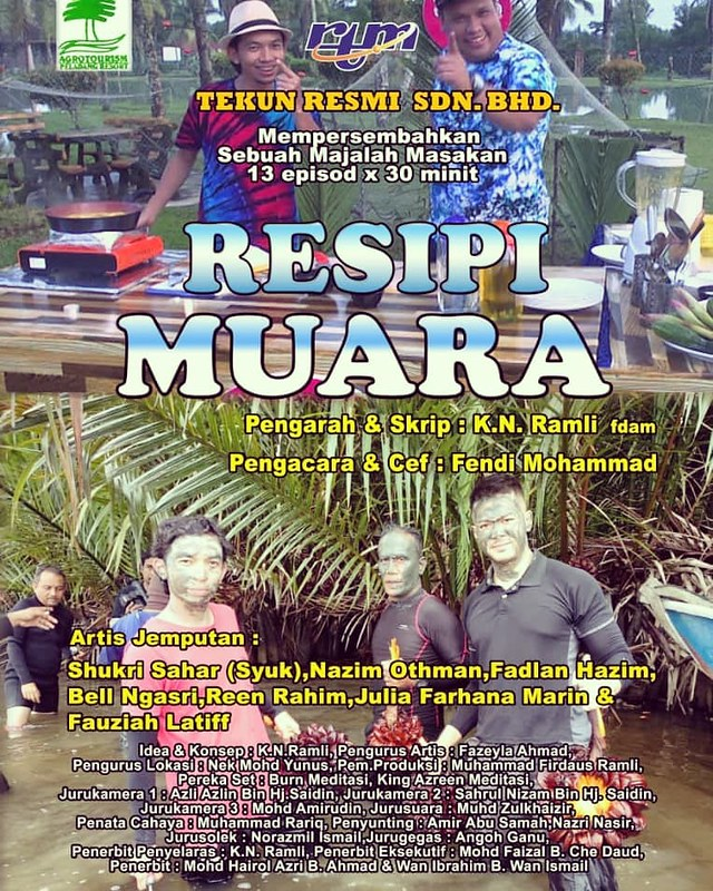 Poster Resipi Muara Di Tv Okey