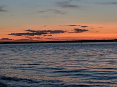 Just after sunset, Cowes