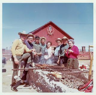 Ray, Eddie, Charlie, Frankie, Ida, Uncle Charlie, Joe, and Grandma Anna Lobato