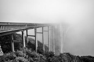 Fog-Covered Bixby Bridge Two