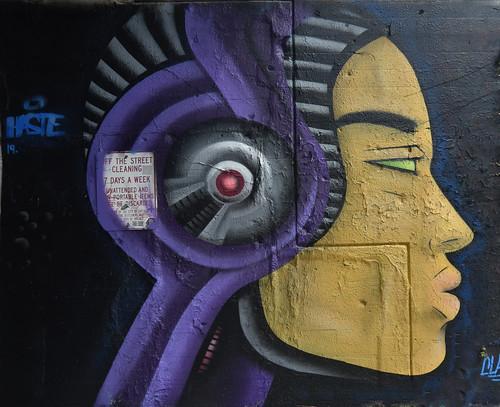 Cyborg Portrait