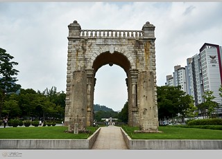 Dongnimmun Gate(Independence Gate) of Korea (from Japanese colonial rule ...)