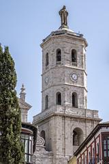 Torre campanario de la Catedral. Valladolid.