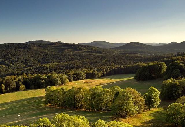 Lausitzer Gebirge in Tschechien.