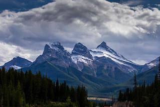 Three Sisters Mountain Range