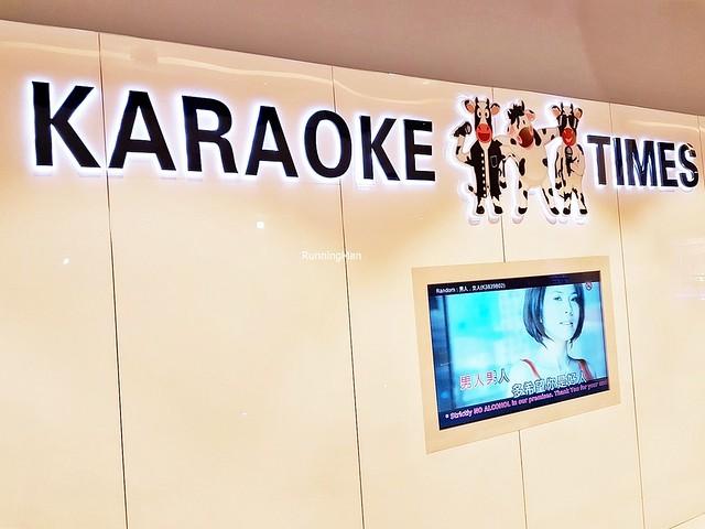 Karaoke Times Signage