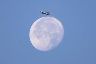 Ryanair,  Liverpool, John Lennon to Wrocklaw  via THE MOON!