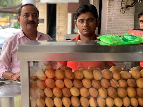 City Food - Longtime Golgappas, Radhe Radhe Chaat Stall