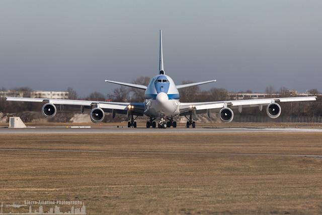 73-1676 USAF United States Air Force Boeing E-4B (MUC- EDDM - Munich)