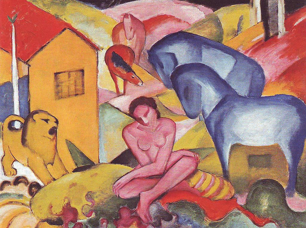 Franz Marc, Der Traum (The Dream)