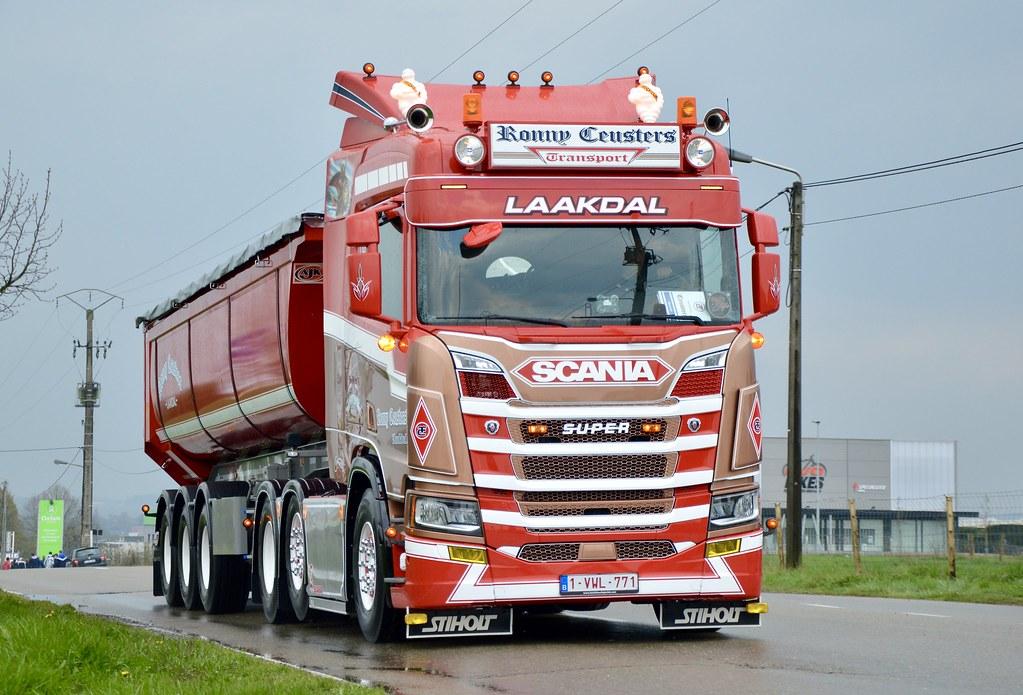B-Ronny Ceusters Transport-Scania NextGen 6x2