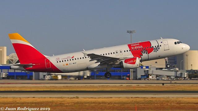 EC-MUF - Iberia Express - Airbus A320-214 - PMI/LEPA