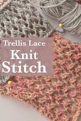 Trellis Lace Knit Stitch