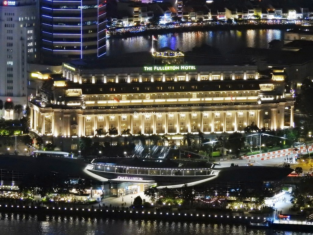 The Fullerton Hotel Singapore And One Fullerton By Night