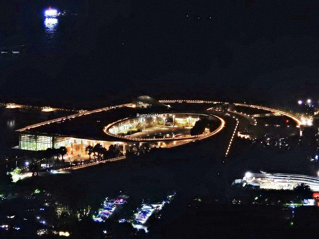 Marina Barrage By Night
