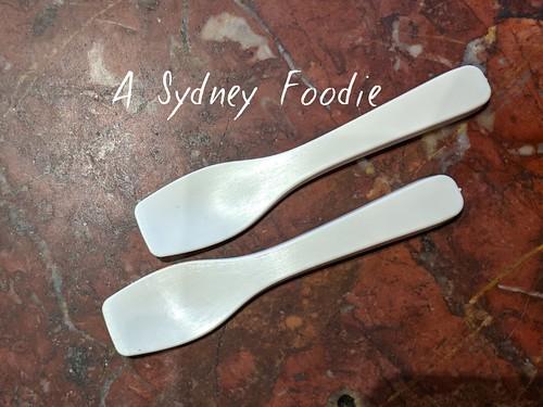 Gelato Tasting spoons