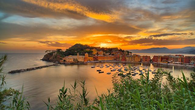 Bay of Silence, golden hour