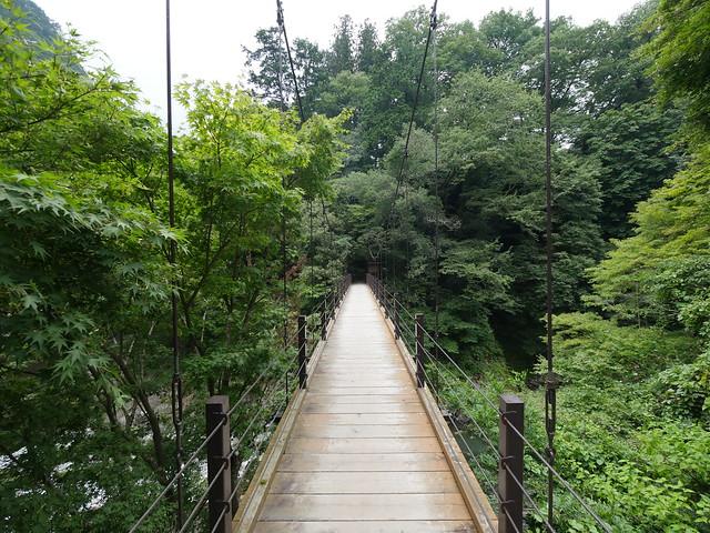 釣り橋 (suspension bridge)