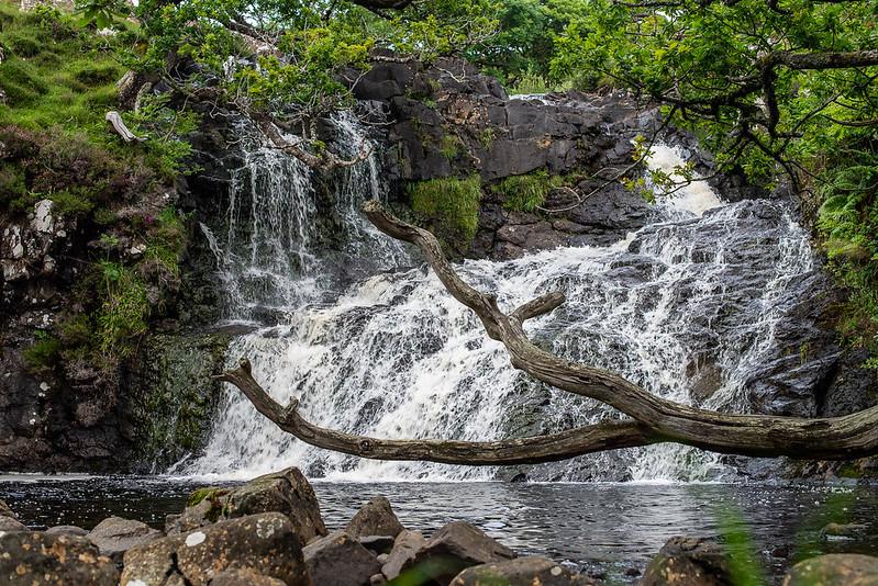 Aburrirte de cascadas en Mull