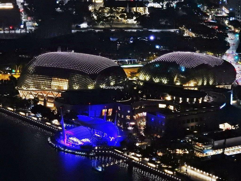 Esplanade - Theatres On The Bay By Night