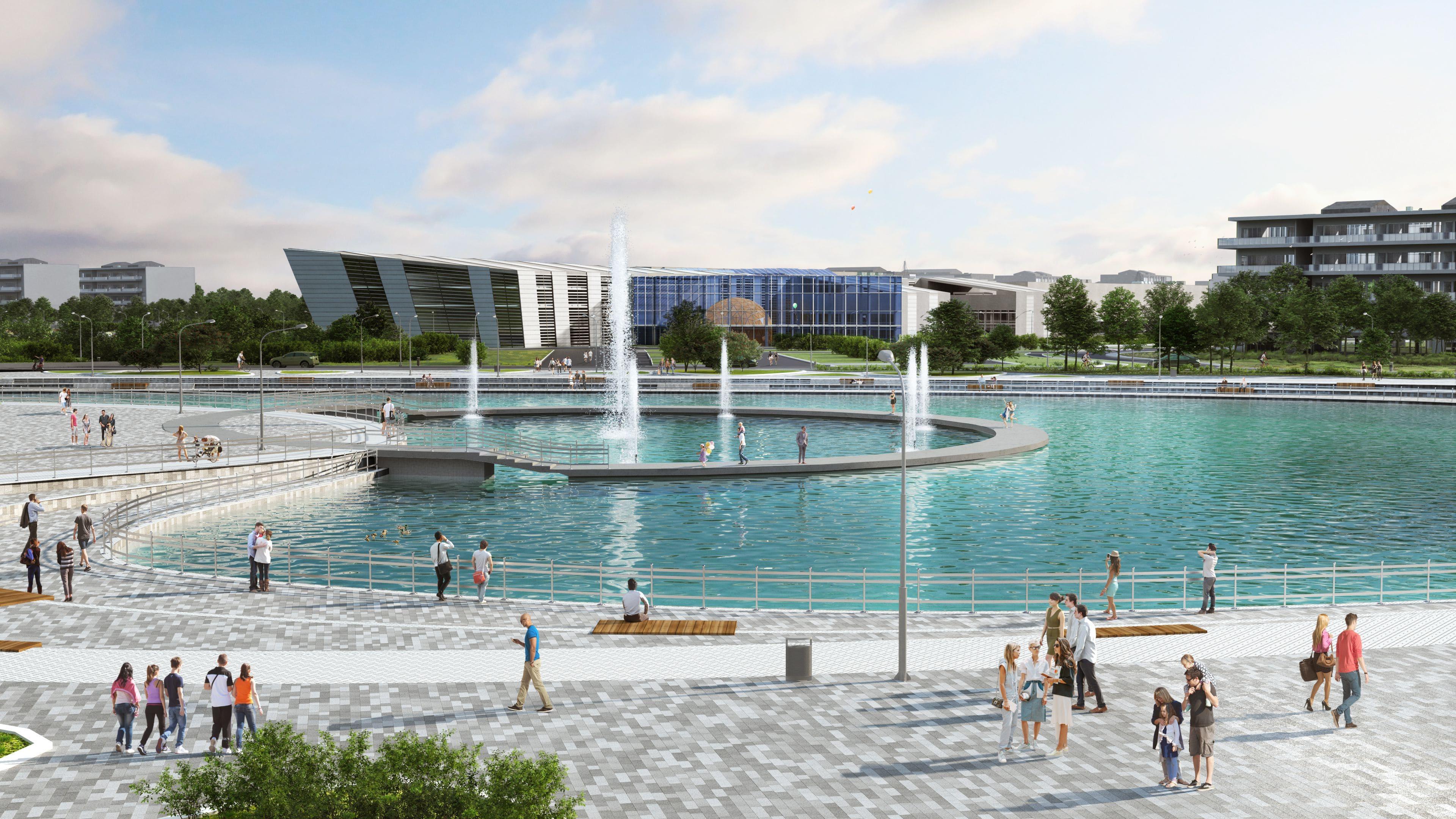 Elég menő lesz Szeged új technegyede