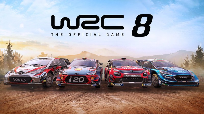 WRC 8 FIA World Rally Championship game