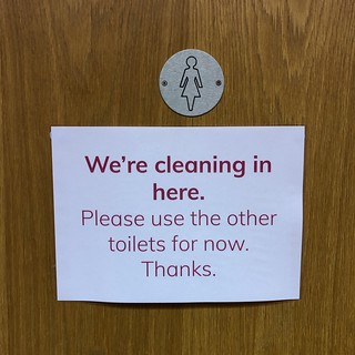 Toilet signs - after