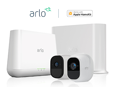 Existing Arlo Pro and Pro 2 security camera users whose cameras are paired with either the VMB4000 or VMB4500 base station models will now be able to receive notifications on the Apple Home app when motion is detected.