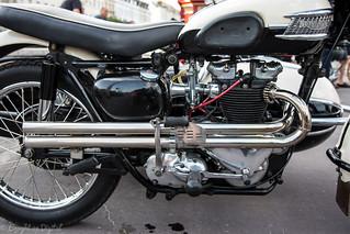 Weymouth Bike Meet-Triumph T110 Combi