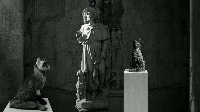 St Roch, protecteur des animaux