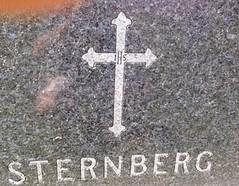 Sternberg tombstone closeup