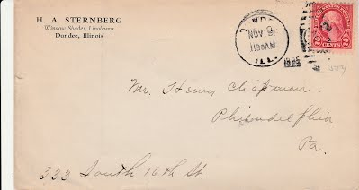 1925 Sternberg letter to Chapman