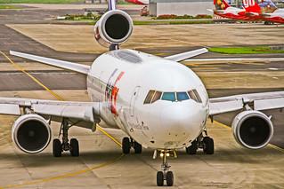 "Federal Express (FedEx) McDonnell Douglas MD-11F ""colton"" Mumbai (MUM/VABB)"