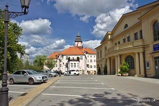 City Hall in Iława (Eylau)