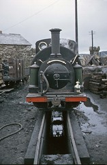Festiniog Railway 0-4-0ST PRINCE at Boston Lodge