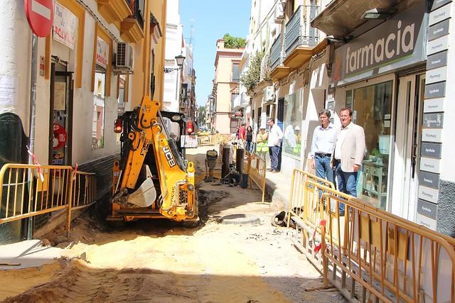 Obras Calle Baños