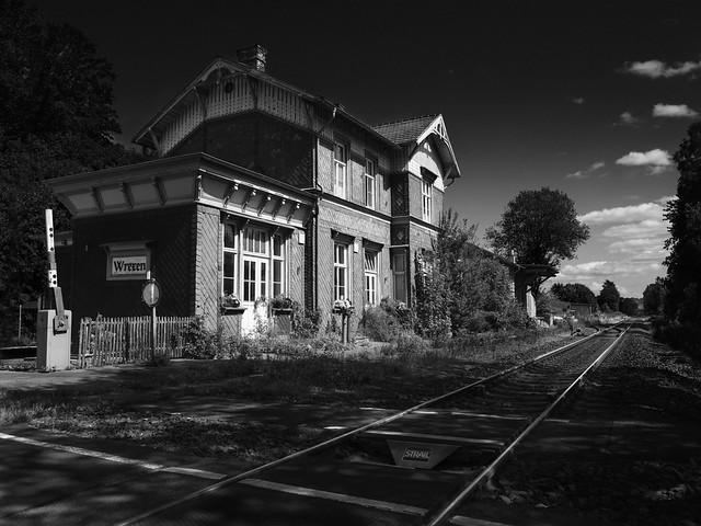 Railway-Station, Wrexen, NRW