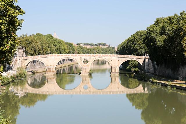 Ponte Sisto_Tevere-Roma