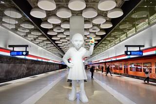 Tapiola metro station, Espoo, Finland