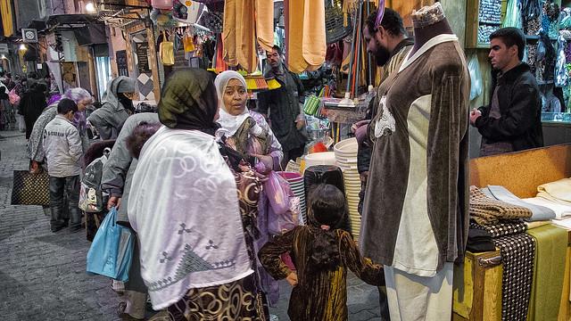 street life in Marrakech