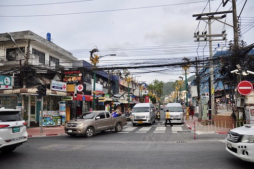 Road to Patong Beach